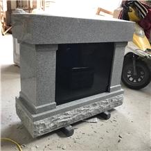Grey Granite Columbarium Niche Manufacturer