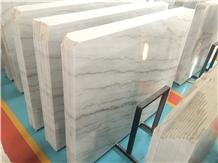 Guangxi White,China Carrara Marble,Tiles&Slabs