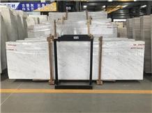 Italy Bianco Carrara White Marble Slabs
