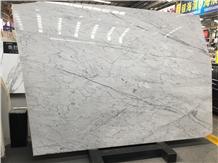 Italy Marmi Bianco Statuario Marble Floor Tiles