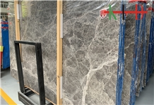 New Hermes Ash Slabs,Grey Marble Tiles for Stairs
