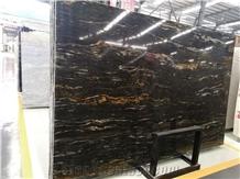 Polished Brazil Golden Viper Granite