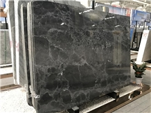 Polished Gem Grey Marble Slabs for Hotel Project