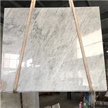Polished Mal White Marble Slabs