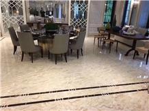 Polished Malay Botticino Marble Tile and Slab