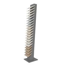 Porcelain Tile and Quartz Stone Display Tower