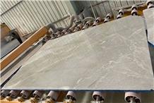 Shandian Lightning Grey Beige Marble Slab Tile