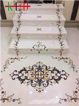 Stone Stairs,Water Jet Marble Steps,Staircase