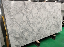 Super White Quartzite,Fantasy White Slabs