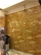 Turkey Golden Sienna Marble Tiles