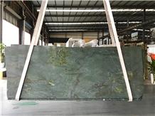 Verde Olive Green Marble Luxury Slabs Floor Wall