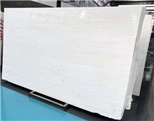 Xinyashi New Ariston Myanmarwhite Marble Slab