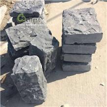 Dark Grey Blue Stone Patio Garden Wall Cap