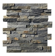 Grey Ledge Wall Cladding Stacked Stone Veneer
