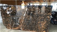 Black & Gold Slabs, Black Gold Marble Slabs