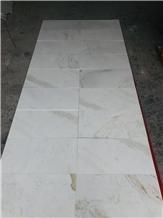 Glorious White Marble Tile Slab Kitchen Wall