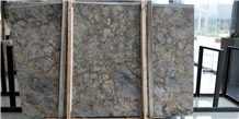 Dora Cloud Gold Marble Polished 1.8cm Slabs