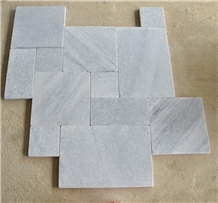 Silver Grey Marble Pattern Pavers