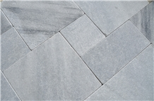 Silver Grey Paving Stone, Sandblasted and Tumbled