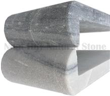 Silver Grey Stone Pool Coping, Grey Pearl Stone