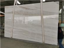 Bianco Lasa Italy Palissandro White Marble Slabs