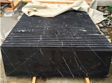 Cheap Black Marquina Nero Marble Steps Staircase
