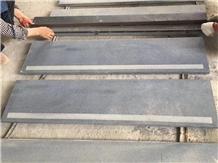 Dark Grey Sesame G654 Granite Stone Stairs Step