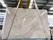Galaxy Wood Veins White Wave Grains Marble Slabs