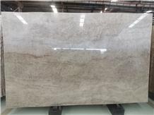 Taj Mahal Quartzite Polished Slab