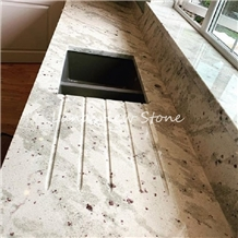Andromeda White Granite Crystal Lanka Granite