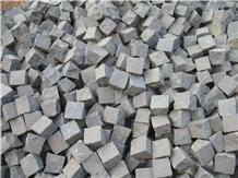 Back Lava Stone Cropped Setts Cube Stone Cobbles