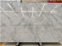 Grey and White Eclipsia Quartzite Floor Tiles Idea