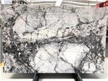 Invisible Grey Marble Bathroom Vanity Tops