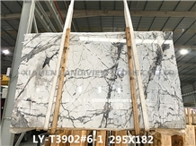 Invisible Grey Marble Kitchen Countertops