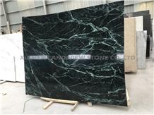 New Verde Guatemala Snow Green Marble Slabs