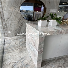 Palissandro Brown Bluette Marble