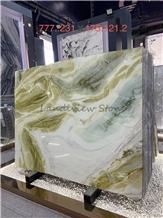 Paradise Jade-Dreaming Green Marble Slabs