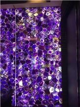 Purple Gemstone Stone Lilac Agate Gemstone