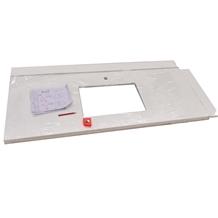 Superior Nano Glass White Prefab Countertop