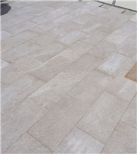 Sebastian Grey Bushhammered Marble Tiles