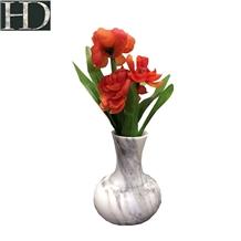 Bianco Calaeatta Marble Vase Home Decor Carving