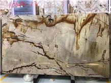 Roma Imperiale Quartzite Creamy Beige with Golden