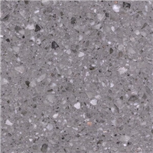 Grey Color Artificial Terrazzo Floor and Wall Tile