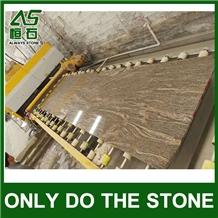 Wave Gold Granite,China Yellow Juparana Granite
