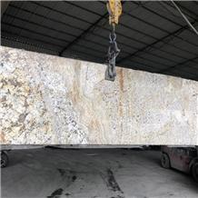 China Snow Gold Granite Slabs