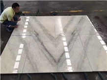Malaysia Beige Silver Line Marble Slabs