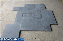 Antiqued French Pattern Bluestone Tiles