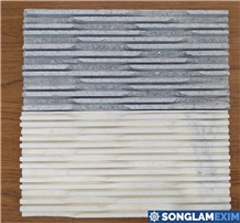 Comb Chiselled Wall Cladding