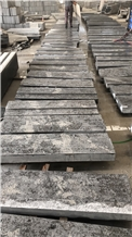 Blue Grey Limestone Steps