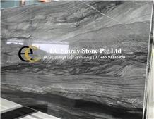 Brazil Mercury Grey Quartzite Slabs & Tiles